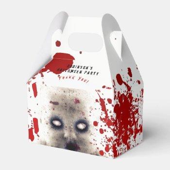 Personalized HALLOWEEN Gable Box CREEPY DOLL Blood