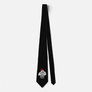 Personalized Halloween Ghost Keep Calm Your Text Tie