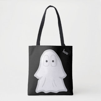 Personalized Halloween Ghost Trick or Treat Bag! Tote Bag