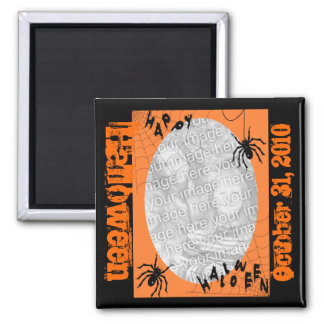 Personalized Halloween Magnet