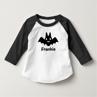 Personalized Halloween Shirt | Black Bat