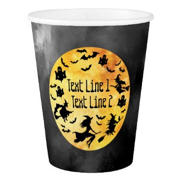 Halloween Themed Personalized Halloween-Themed Event Paper Cup