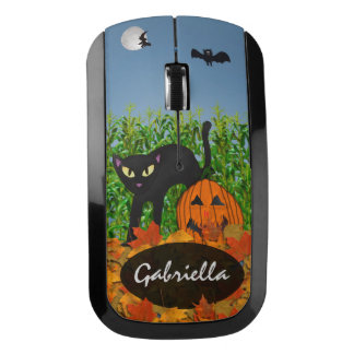 Personalized Halloween Wireless Mouse