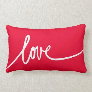 Personalized Handwritten Script Love Throw Pillow