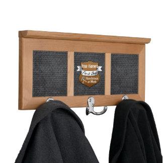 Personalized Handyman Fix-It Custom Name Coat Rack