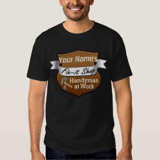 Personalized Handyman Fix-It Custom Name Dresses