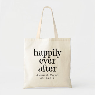 Personalized Happily Ever After Tote Bag