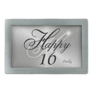 Personalized Happy 16 Designs Belt Buckle