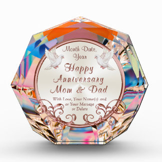 Personalized Happy Anniversary Gifts for Parents