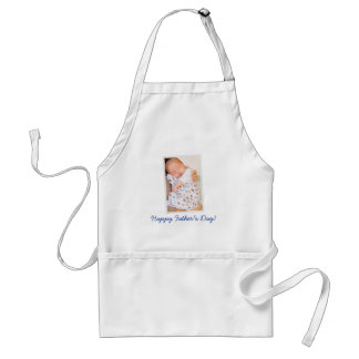 Personalized Happy Fathers Day Aprons PHOTO