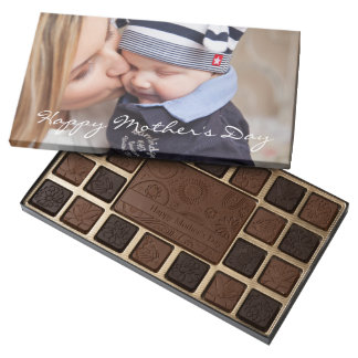 Personalized Happy Mothers Day Chocolate Add Photo
