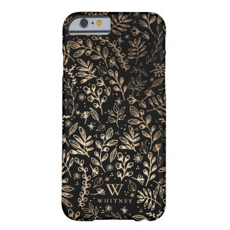 Personalized | Harvest Flowers Barely There iPhone 6 Case