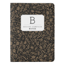 Personalized | Harvest Flowers Extra Large Moleskine Notebook