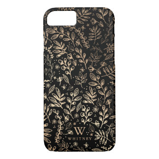 Personalized | Harvest Flowers iPhone 8/7 Case