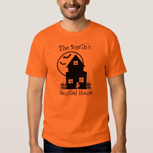 Personalized Haunted House Shirt