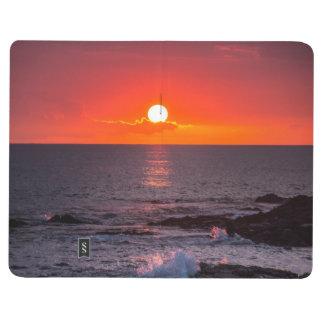 Personalized Hawaii Beach Ocean Tropical Sunset Journal