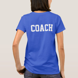 Personalized Head Coach T-Shirt