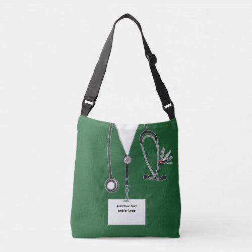 personalized healthcare crossbody bag