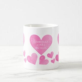 Personalized Heart Mug