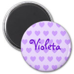 Personalized Heart Pattern Magnet