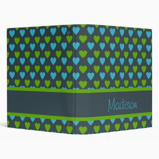 Personalized Heart Patterned Binder