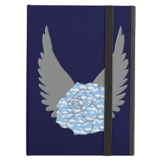 Personalized Heavenly Rose iPad Case