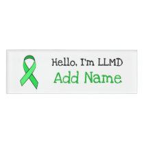 Personalized Hello, Im LLMD Name Tag