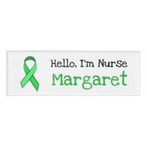 Personalized Hello, Im Nurse Name Tag