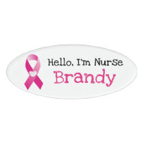 Personalized Hello, Im Nurse Name Tag