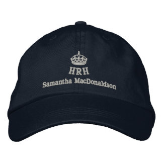 Personalized Her Royal Highness Embroidered Baseball Hat