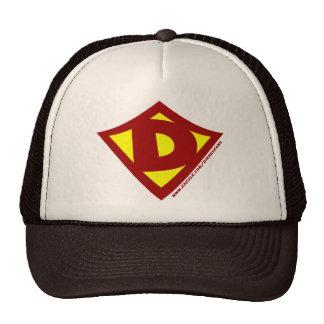 Personalized Hero D Trucker Hat