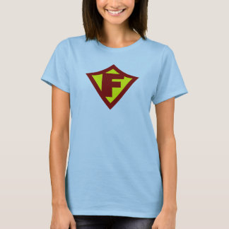 Personalized Hero F T-Shirt