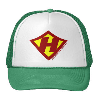 Personalized Hero H Trucker Hat