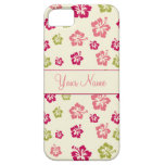 Personalized Hibiscus Flower Pattern  Case iPhone 5 Case