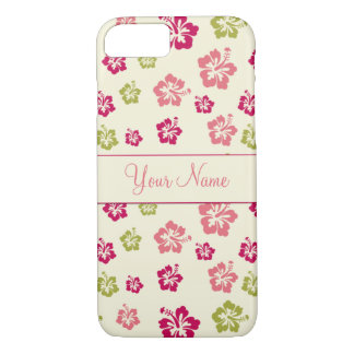 Personalized Hibiscus Flower Pattern Case