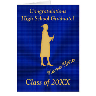 Personalized High School Graduation Cards for Her