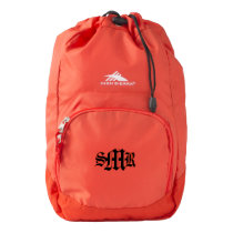 Personalized High Sierra Backpack (Red)