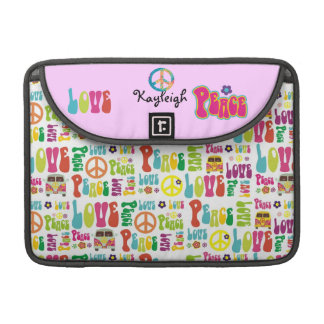 Personalized hippie sleeve for MacBook pro