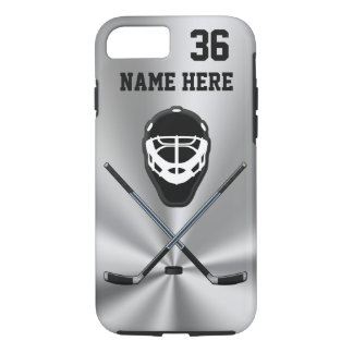 Personalized Hockey Phone Cases Your NUMBER, NAME