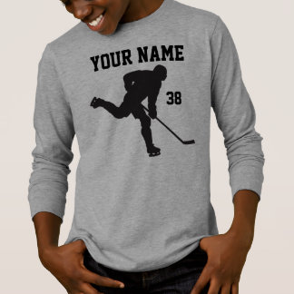 Personalized Hockey Shirts for Boys and Men