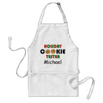 Personalized Hoilday Cookie Tester Apron