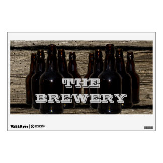 Personalized Home Brewing Beer Brewer's Decal Wall Decal