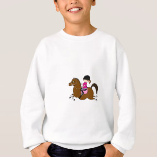 Personalized Horse and Rider Dressage Accessory Sweatshirt