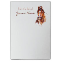 Personalized Horse Art Notes