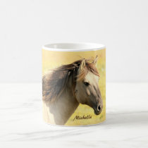 Personalized Horse Coffee Mug