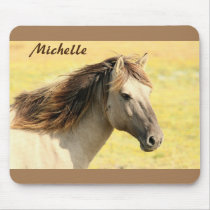 Personalized Horse Mouse Pad
