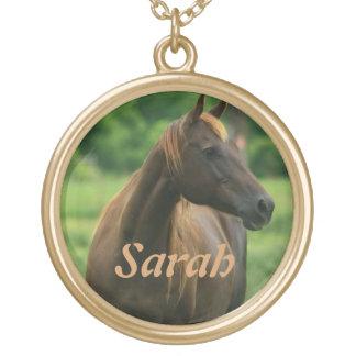 Personalized Horse Pendant