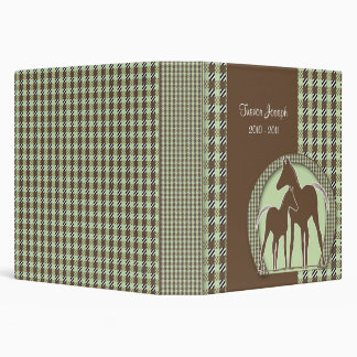 Personalized Horse Photo Album 3 Ring Binder