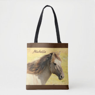 Personalized Horse Tote Bag