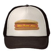 Personalized Hot Dog Hat at Zazzle